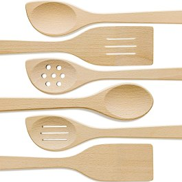 Non Toxic Cooking Utensils - ORG Wooden SpoonsNon Toxic Cooking Utensils - ORG Wooden Spoons