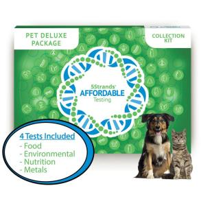 Dog Food, Metal, Mineral, Nutrition, Environmental Intolerance Tests - 5Strands Pet Deluxe Package