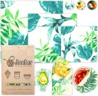 Non Toxic Food Wrap - Beebae Beeswax Organic Cotton Food Wrap
