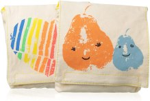 Non Toxic Kids Lunch Bag - Fluf Reusable Snack Bags Sandwich Bags for Kids