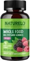 Kids Organic Multivitamin - NATURELO Whole Food Vitamin Gummies for Kids