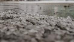 Încet, chiar și apa sărată îngheață. FOTO Cătălin Schipor