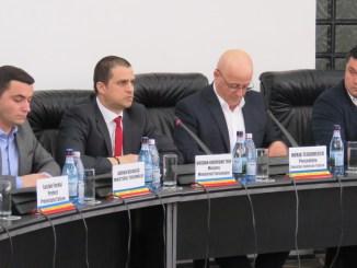 Ministrul Bogdan Trif, în vizită la Tulcea. FOTO CJ Tulcea