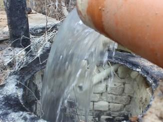 Nou izvor de apă termală la Băile Herculane. FOTO Adrian Boioglu