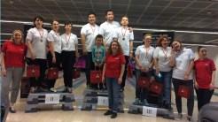 Campionatul de bowling pentru agențiile de turism, organizat de Turkish Airlines Constanța. FOTO GoNEXT