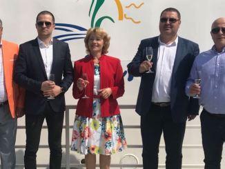 Bogdan Trif, alături de reprezentanții Administraiei Locale din Tulcea. FOTO Ministerul Turismului