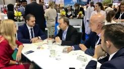 Ministrul Turismului, Bogdan Trif se află în Dubai la Târgul de Turism. FOTO Ministerul Turismului