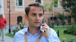 Mihai Jurca, Directorul European Music Open Oradea. FOTO Adrian Boioglu