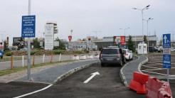Clienții Aroportului Internațional Timișoara au de acum mai multe locuri de parcare. FOTO AIT