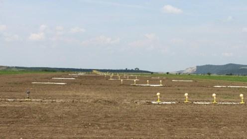 Areroportul din Târgu Mureș are o nouă pist ă și așteaptă cursele internaționale. FOTO CJ Tg. Mureș