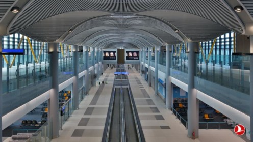 Noul Aeroport din Istanbul. FOTO Turkish Airlines