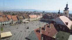 Piața Mare din Sibiu. FOTO Cătălin SCHIPOR