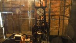 Măruntaiele ceasului din Turnul Sfatului din Sibiu. FOTO Cătălin SCHIPOR