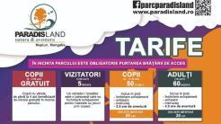 Tarife pentru Parc Aventura Paradis Land din Neptun.