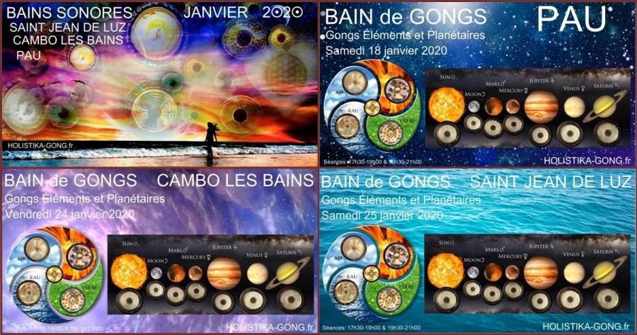 Bains Sonores vibratoires de  Janvier 2020