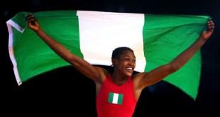 Odunayo Adekuoroye, Wrestling