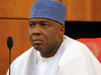 Senator Bukola Saraki...matter at Code of Conduct Tribunal adjourned again
