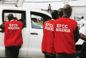 EFCC operatives ...now fighting Guaranty Trust Bank's case?