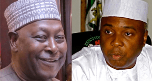 Babachir Lawal and Dr Saraki...in a new war of attrition