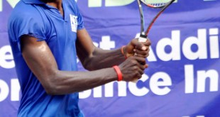 Moses Michael...Tean Ndoma-Egba gets semii-final ticket in NCC Tennis League