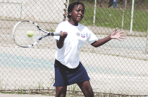 Oyinlomo Quadri...her juniors use Ademuliyi tourney to warm up for Africa