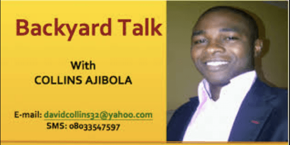 Collins Ajibola, Backyard Talk