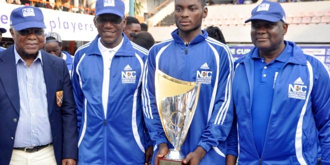 Team Ofikwu in the semi-final of the NCC Tennis League