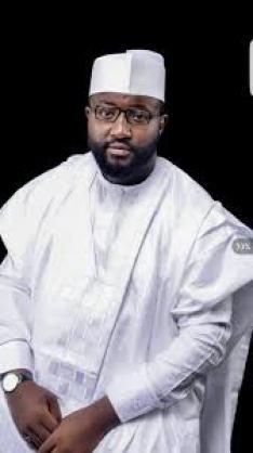 Senator Hilliru Jika representing Bauchi central Senatorial District