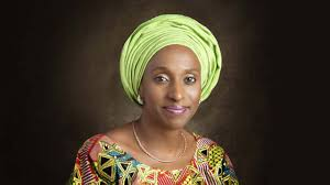 Mrs. Dolapo Osinbajo, wife of the vice president of the federal republic of Nigeria,