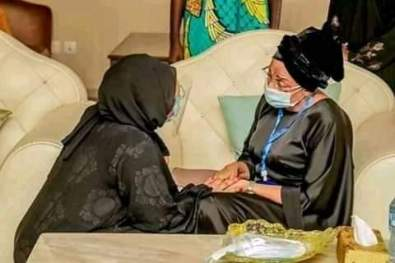Mrs Oyo-Ita over leaked memo