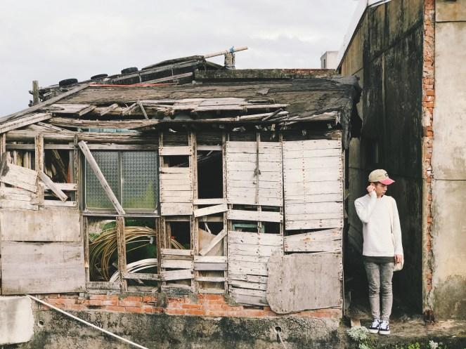 破舊漁村倉庫也有另類美感