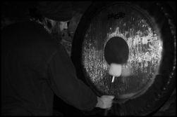 Underground in black and white