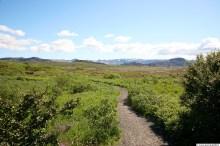 Búrfellsgjá, við upphaf leiðarinnar