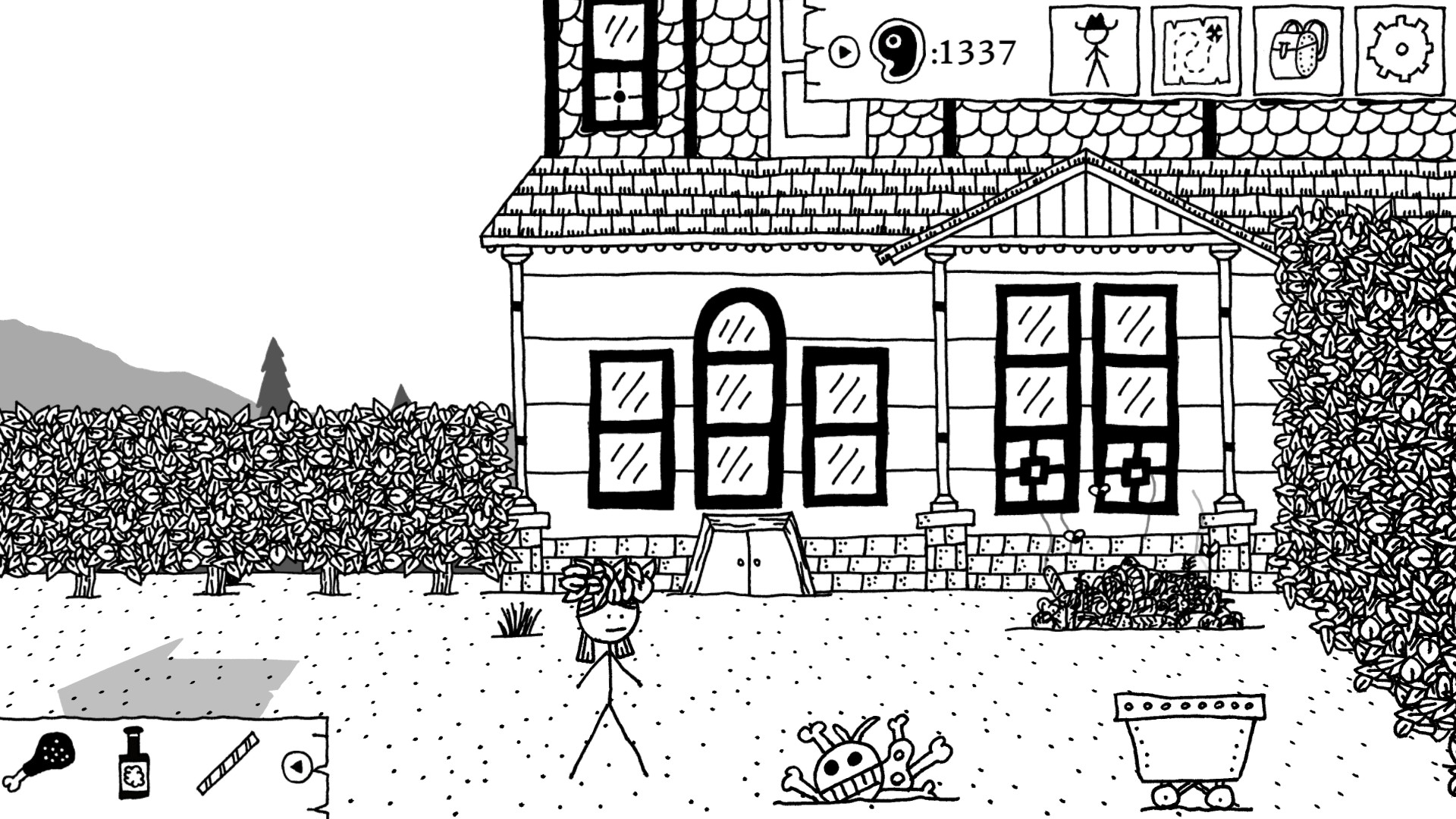 West Of Loathing S Reckonin At Gun Manor Dlc Submitted