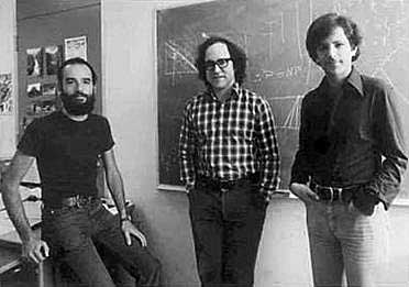 Adi Shamir, Ronald Rivest, and Leonard Adleman : When they were students at MIT. Image Credit : AMS.org