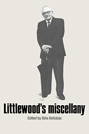 Littlewood's Micellany