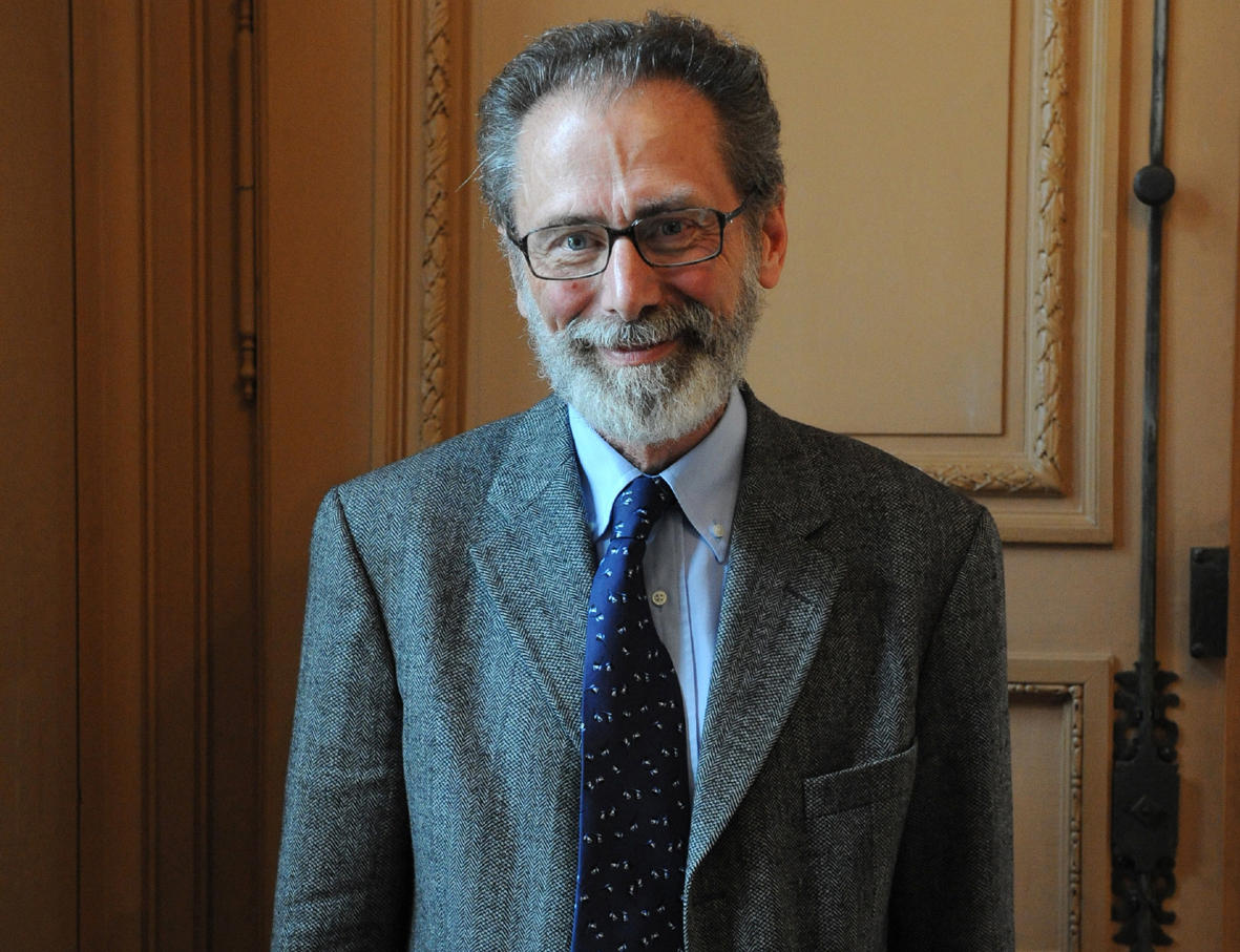 The Abel Prize Laureate 2017 Yves Meyer (Photo:B. Eymann/Académie des sciences)