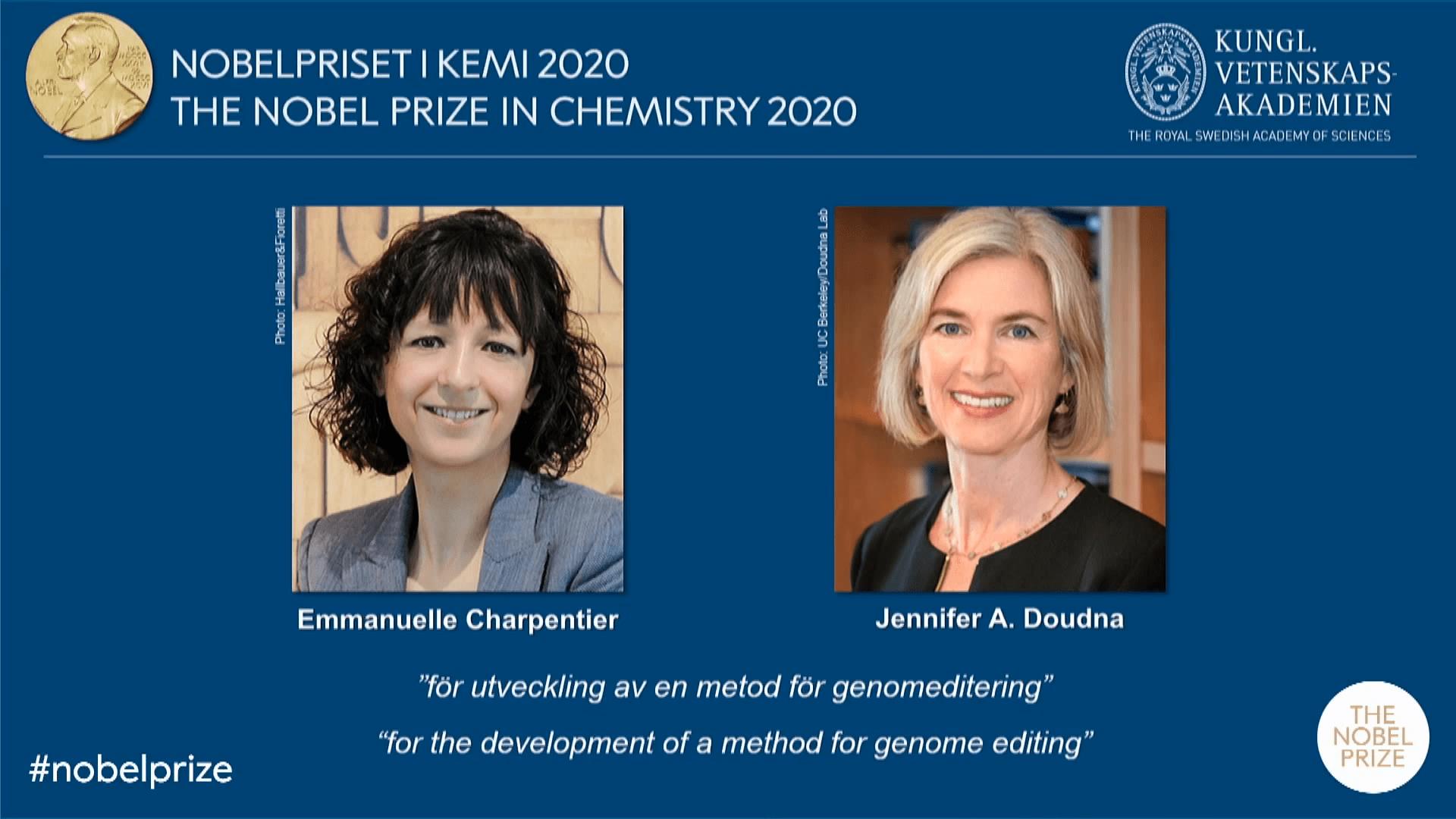 2020 Nobel Prize in Chemistry