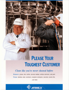 Food Processing Cleaning