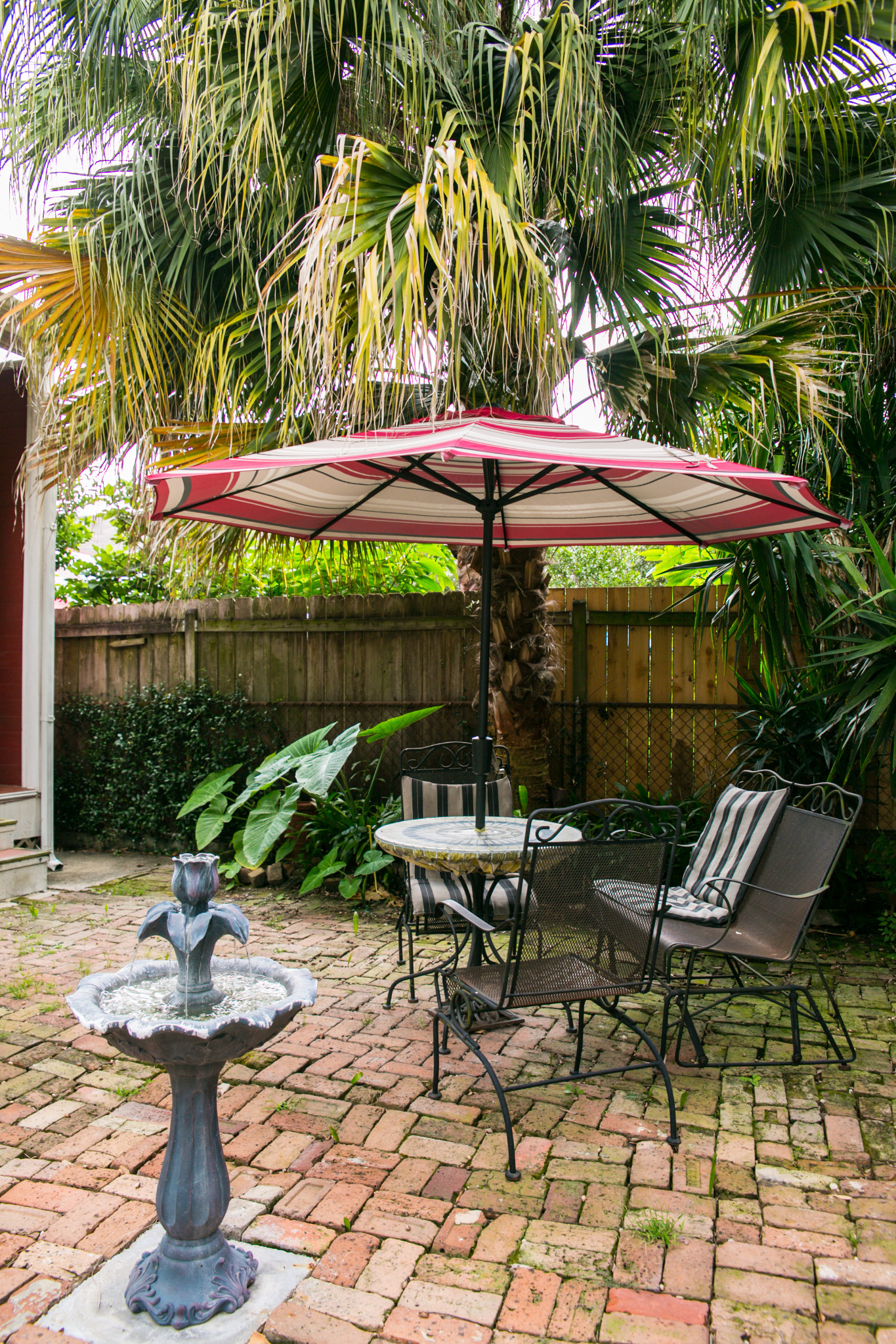 Romantic LGBT Courtyards of New Orleans