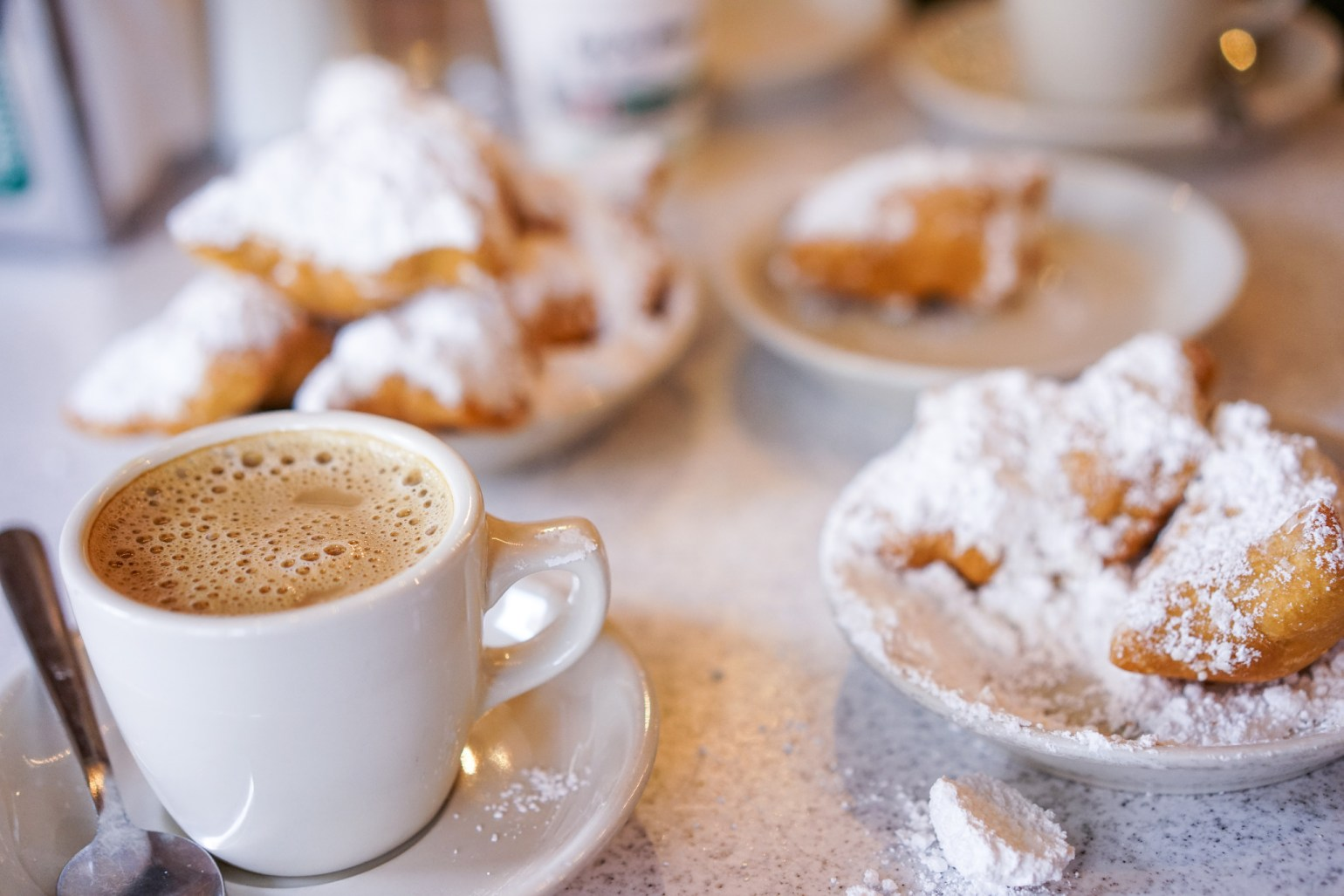 Before you head out of town, you have to have a beignet. (Photo Credit: Paul Broussard)