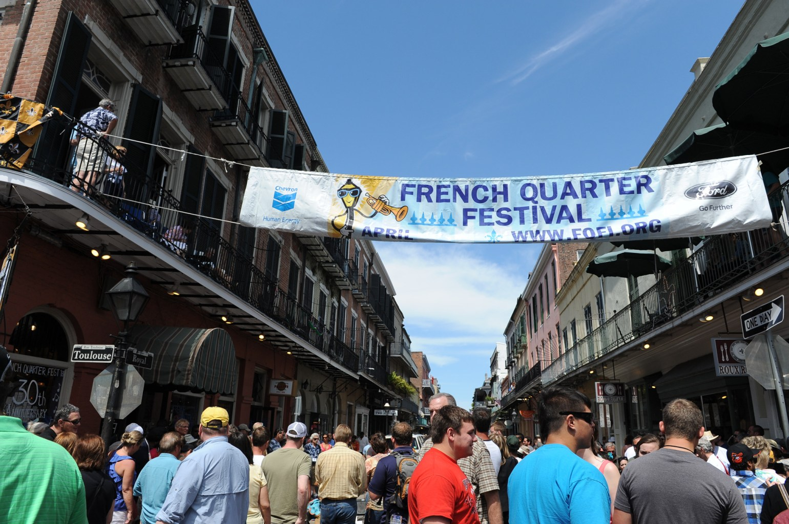Over the course of four days, more than 1,700 musicians will perform on 23 separate stages across the French Quarter and the Mississippi Riverfront.