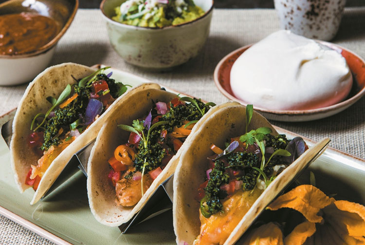 Take your Taco Tuesday skills to the next level at Aarón Sánchez's cooking class! (Photo: Johnny Sanchez)