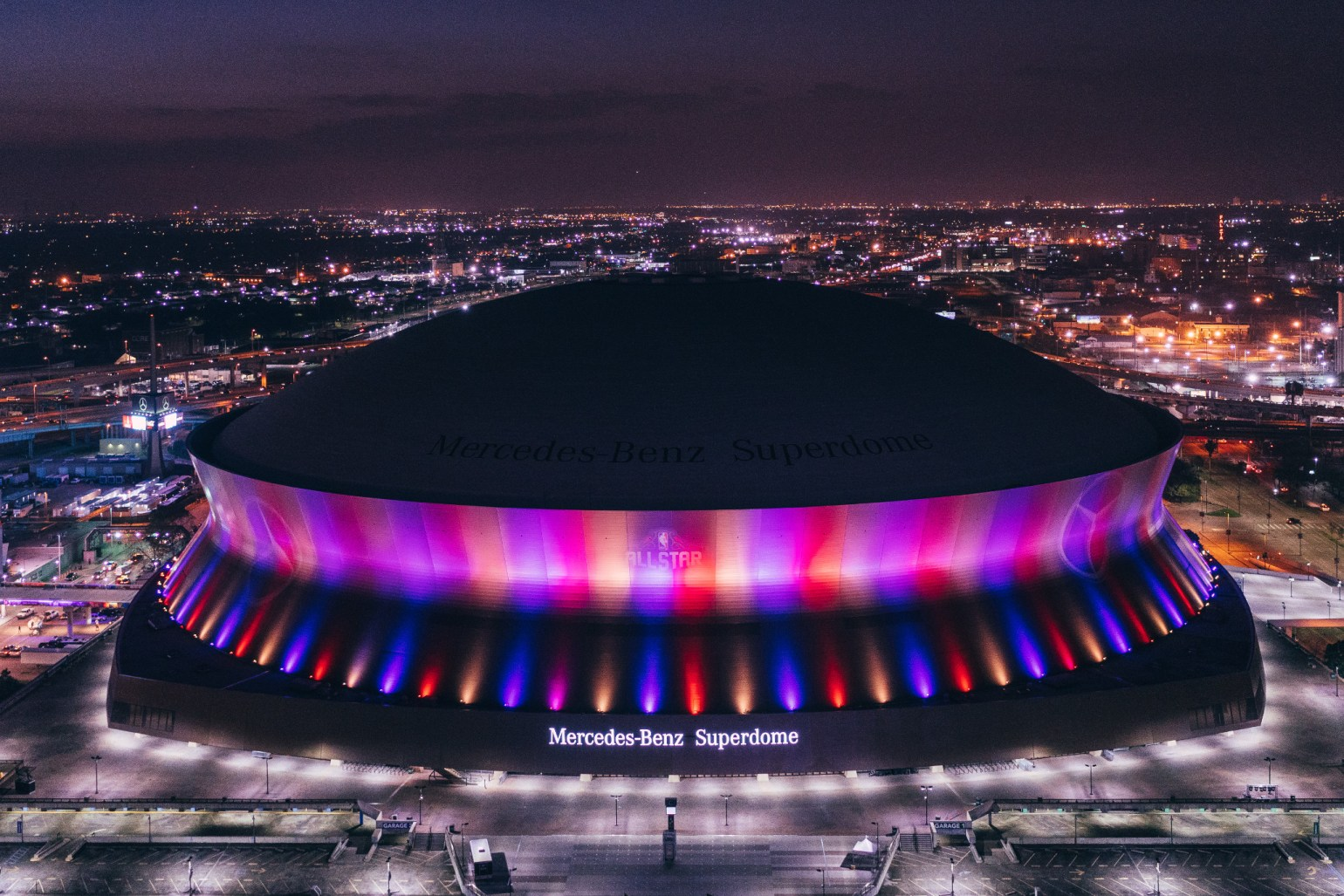 The Superdome hosts Bayou Country Superfest this year Photo: Paul Broussard