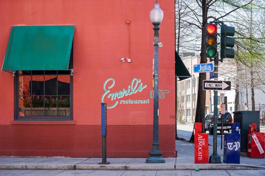 Emeril's flagship restaurant in the Warehouse District has been wowing locals and tourists alike with gracious fine dining hospitality and pioneering modern New Orleans cuisine for more than 25 years at the corner of Tchoupitoulas Street and Julia Street.