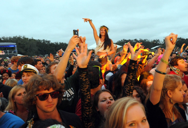 Voodoo Festival Crowd