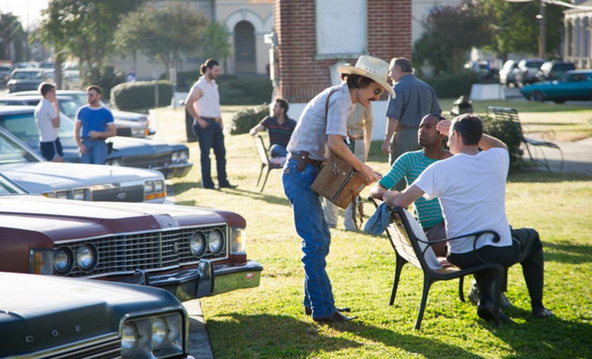 "Matthew McConaughey as Ron Woodruff in the New Orleans-filmed ""Dallas Buyers Club."" (Photo via Movie Stills Database)"