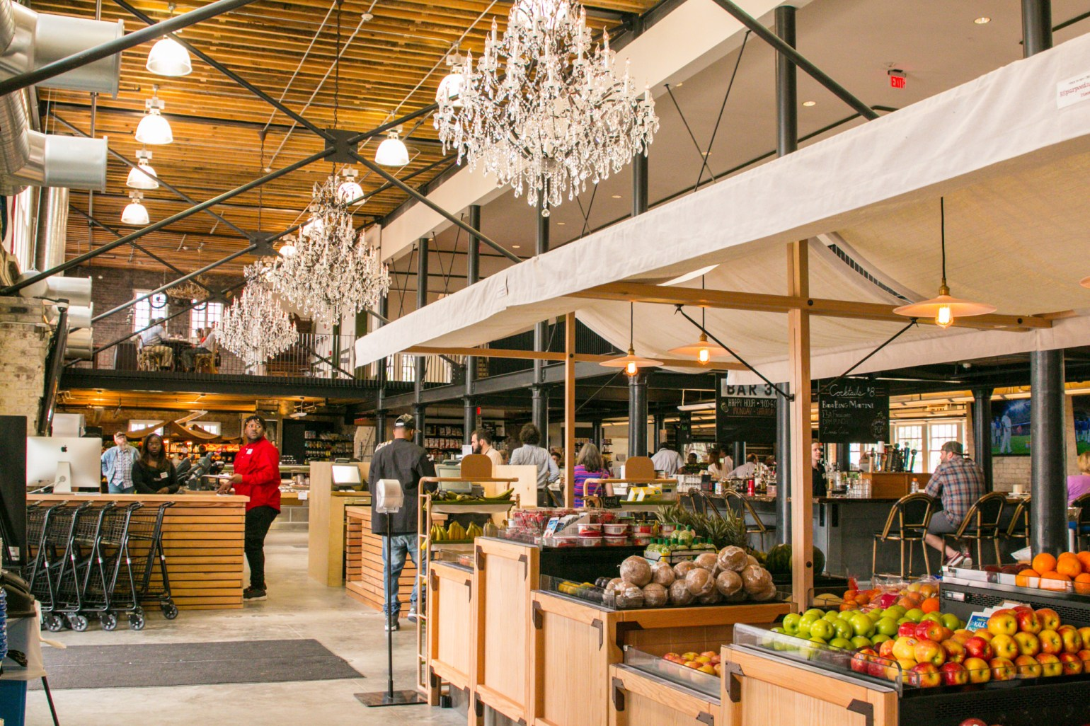 The deliciously appointed Dryades Public Market. (Photo: Rebecca Ratliff)