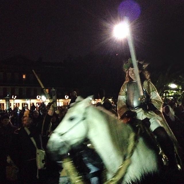 A recent Joan of Arc parade. (Photo: Paul Broussard)