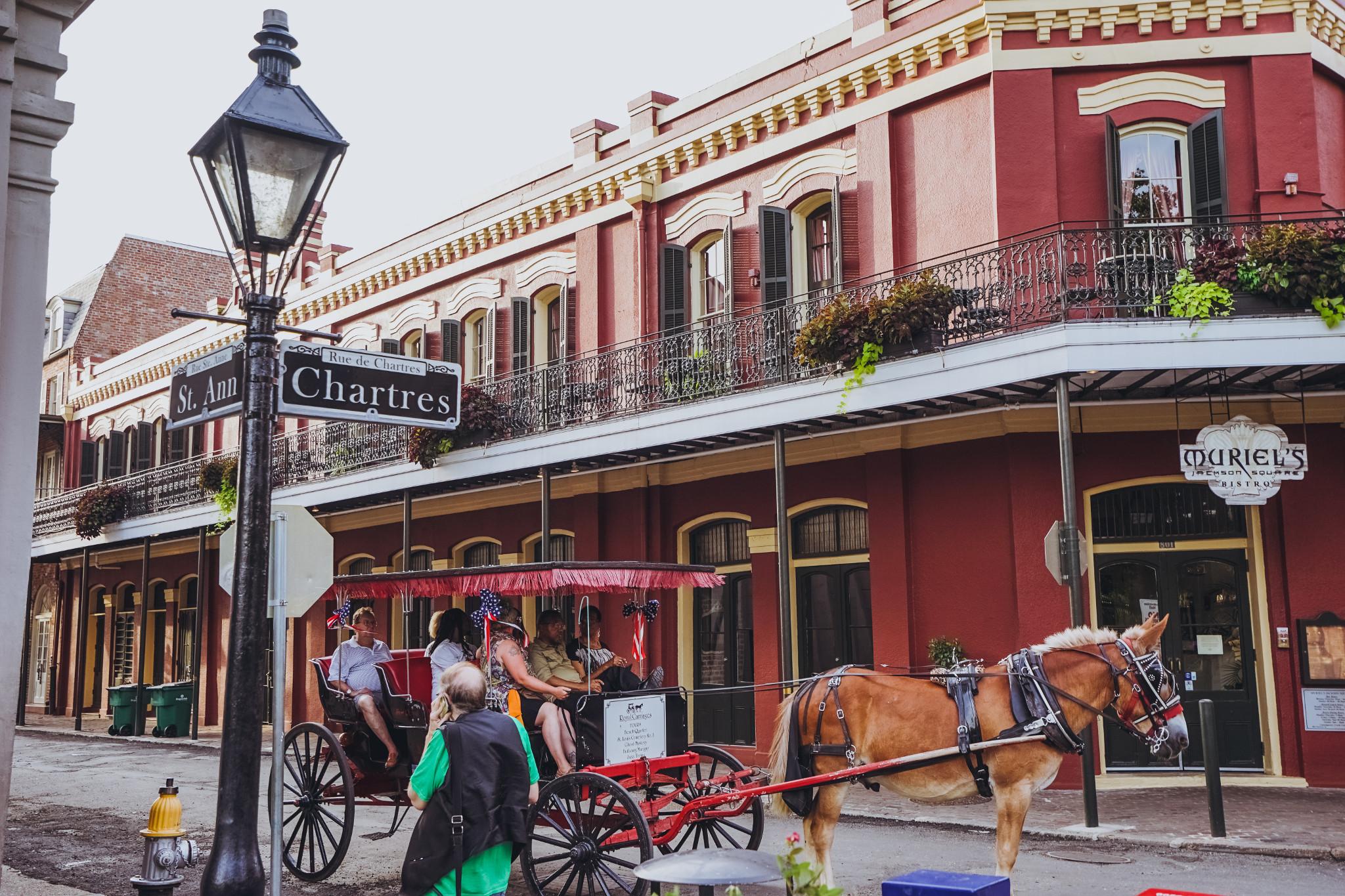 Best Bourbon Street Balcony Hotel